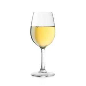 vino in bottiglia bianco